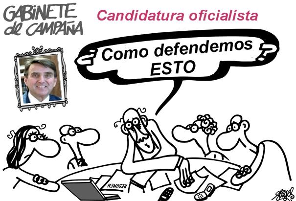 Candidatura Delgado/¿Paredes?