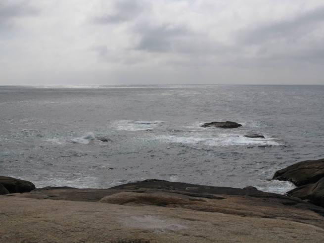 Atlántico desde A Pedra de Aabalar. Muxia Costa da Morte